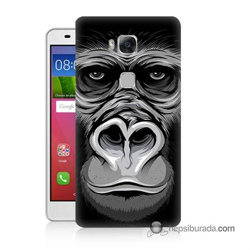 Teknomeg Huawei Gr5 Kapak Kılıf Goril Baskılı Silikon