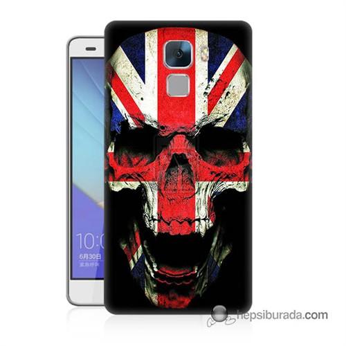 Teknomeg Huawei Honor 7 Kapak Kılıf İngiltere Baskılı Silikon