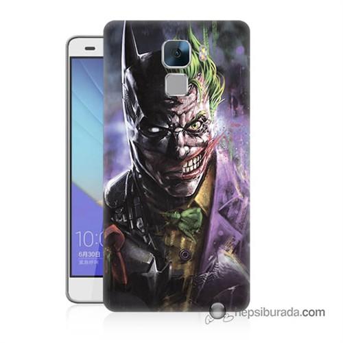 Teknomeg Huawei Honor 7 Kapak Kılıf Joker Vs Batman Baskılı Silikon