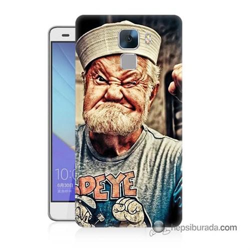 Teknomeg Huawei Honor 7 Kapak Kılıf Temel Reis Baskılı Silikon