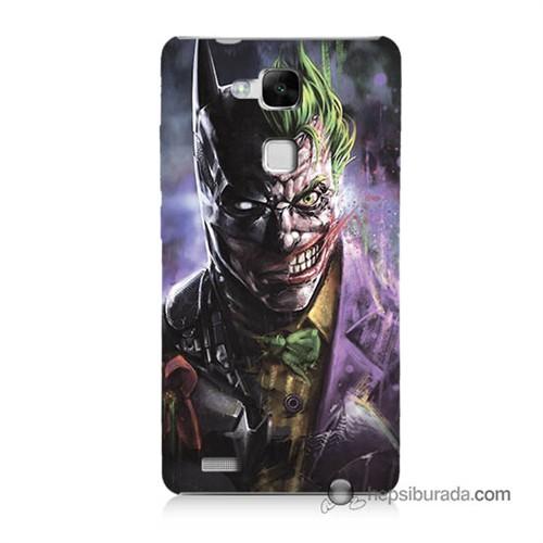 Teknomeg Huawei Mate 7 Kapak Kılıf Joker Vs Batman Baskılı Silikon