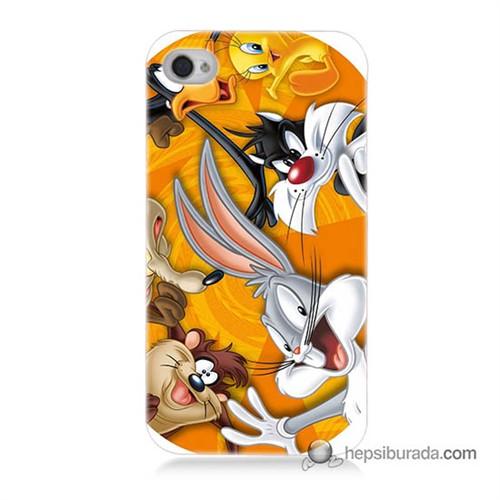 Teknomeg İphone 4S Kapak Kılıf Disney Karakterleri Baskılı Silikon