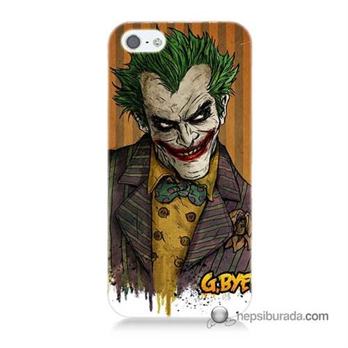 Teknomeg İphone 5 Kapak Kılıf Joker Baskılı Silikon
