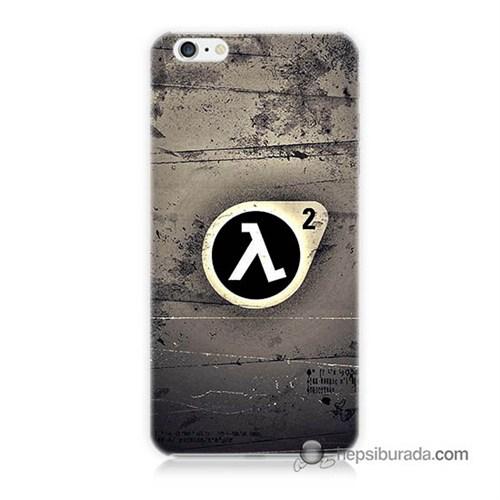 Teknomeg İphone 6 Kapak Kılıf Half Life Baskılı Silikon
