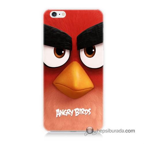 Teknomeg İphone 6 Plus Kapak Kılıf Angry Birds Baskılı Silikon