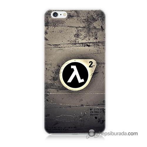 Teknomeg İphone 6 Plus Kapak Kılıf Half Life Baskılı Silikon