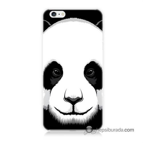 Teknomeg İphone 6 Plus Kapak Kılıf Panda Baskılı Silikon