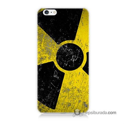 Teknomeg İphone 6S Plus Kapak Kılıf Radyasyon Baskılı Silikon