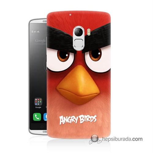 Teknomeg Lenovo A7010 Kapak Kılıf Angry Birds Baskılı Silikon