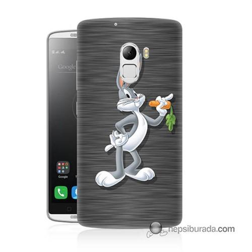 Teknomeg Lenovo A7010 Kapak Kılıf Bugs Bunny Baskılı Silikon
