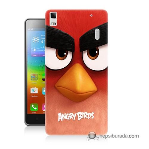 Teknomeg Lenovo A7000 Kapak Kılıf Angry Birds Baskılı Silikon