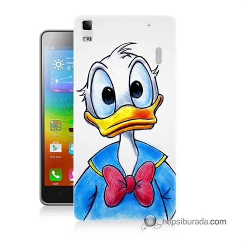 Teknomeg Lenovo A7000 Kapak Kılıf Donald Duck Baskılı Silikon