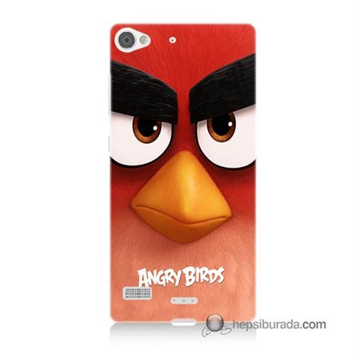 Teknomeg Lenovo Vibe X2 Kapak Kılıf Angry Birds Baskılı Silikon