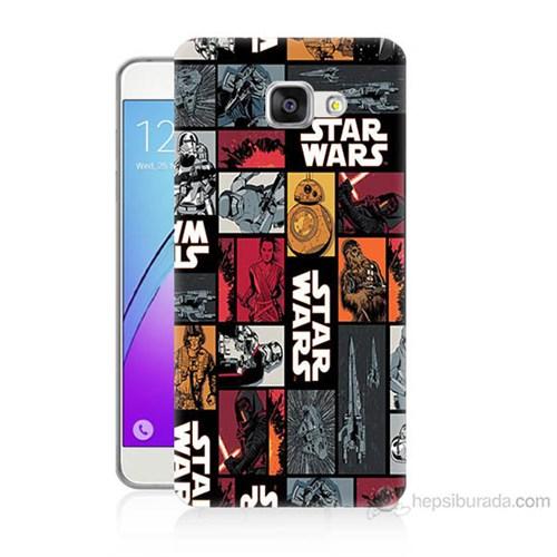 Teknomeg Samsung Galaxy A3 2016 Kapak Kılıf Star Wars Baskılı Silikon