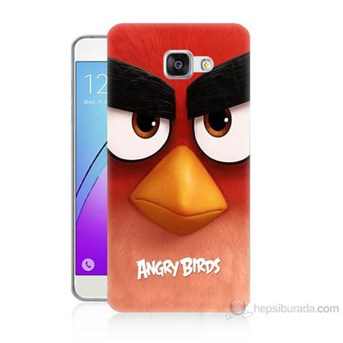 Teknomeg Samsung Galaxy A3 2016 Kapak Kılıf Angry Birds Baskılı Silikon