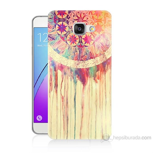 Teknomeg Samsung Galaxy A3 2016 Kapak Kılıf Dream Catcher Baskılı Silikon