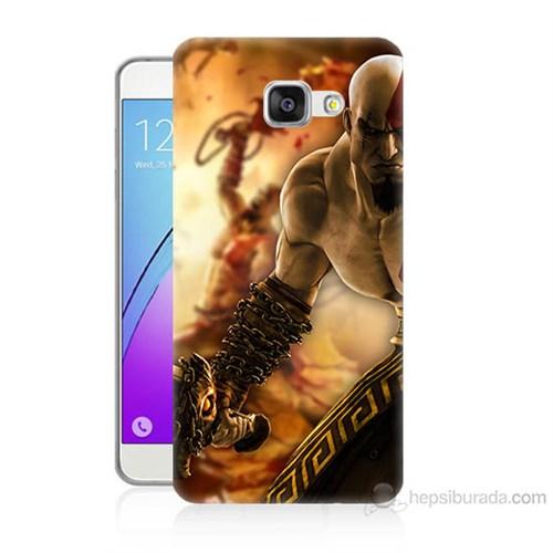 Teknomeg Samsung Galaxy A3 2016 Kapak Kılıf God Of War Baskılı Silikon