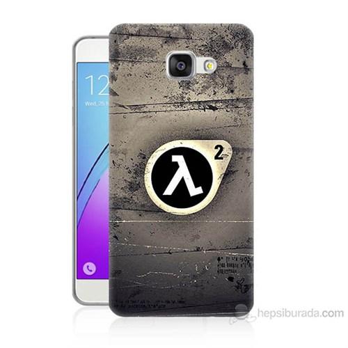 Teknomeg Samsung Galaxy A3 2016 Kapak Kılıf Half Life Baskılı Silikon