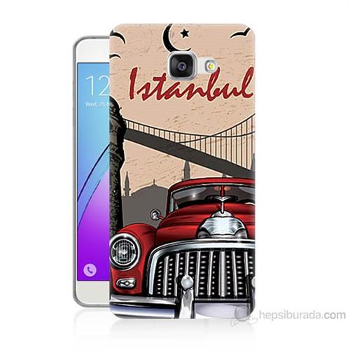Teknomeg Samsung Galaxy A5 2016 Kapak Kılıf İstanbul Baskılı Silikon