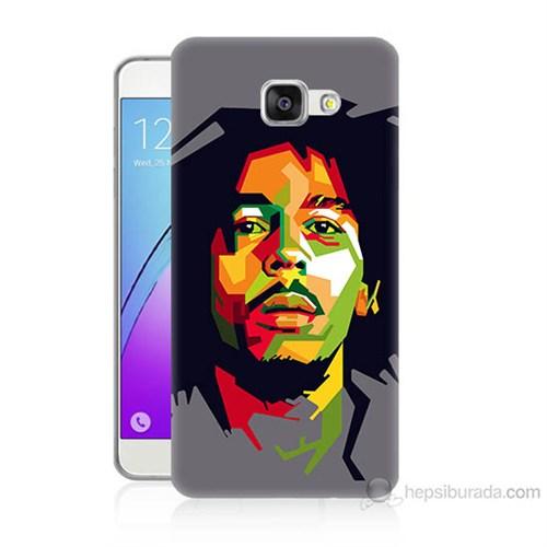 Teknomeg Samsung Galaxy A5 2016 Kapak Kılıf Bob Marley Baskılı Silikon