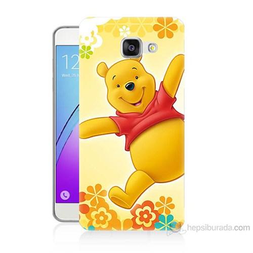 Teknomeg Samsung Galaxy A5 2016 Kapak Kılıf Ayı Winnie Baskılı Silikon