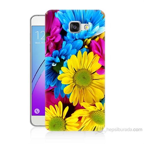 Teknomeg Samsung Galaxy A5 2016 Kapak Kılıf Kasımpatı Baskılı Silikon