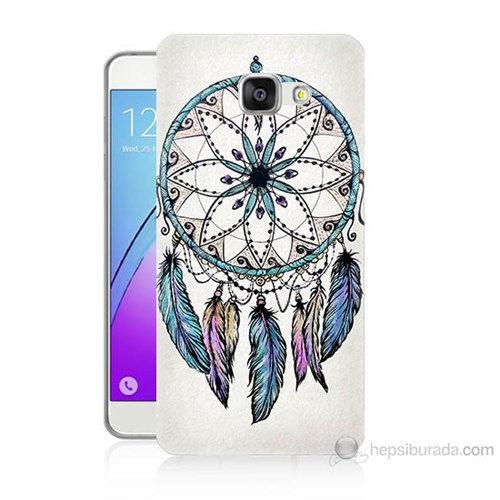 Teknomeg Samsung Galaxy A5 2016 Kapak Kılıf Dream Catcher Baskılı Silikon