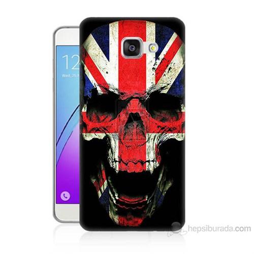 Teknomeg Samsung Galaxy A5 2016 Kapak Kılıf İngiltere Baskılı Silikon