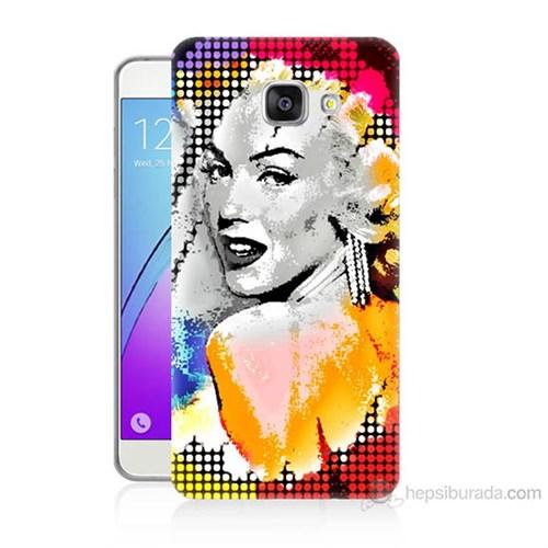 Teknomeg Samsung Galaxy A5 2016 Kapak Kılıf Marilyn Monroe Baskılı Silikon