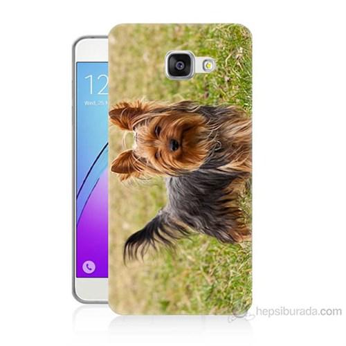 Teknomeg Samsung Galaxy A7 2016 Kapak Kılıf Terier Baskılı Silikon