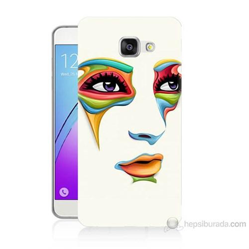 Teknomeg Samsung Galaxy A7 2016 Kapak Kılıf Face Baskılı Silikon