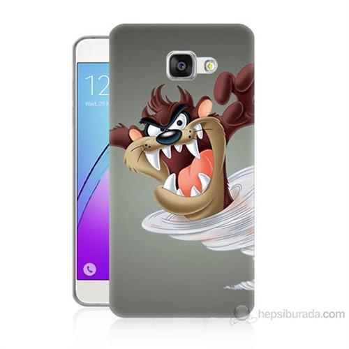 Teknomeg Samsung Galaxy A7 2016 Kapak Kılıf Tazmanya Canavarı Baskılı Silikon
