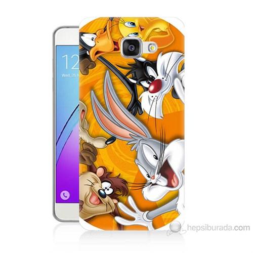 Teknomeg Samsung Galaxy A7 2016 Kapak Kılıf Disney Karakterleri Baskılı Silikon