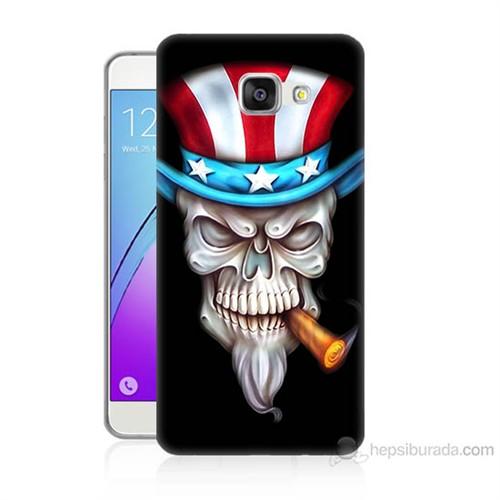 Teknomeg Samsung Galaxy A7 2016 Kapak Kılıf Sam Amca Baskılı Silikon