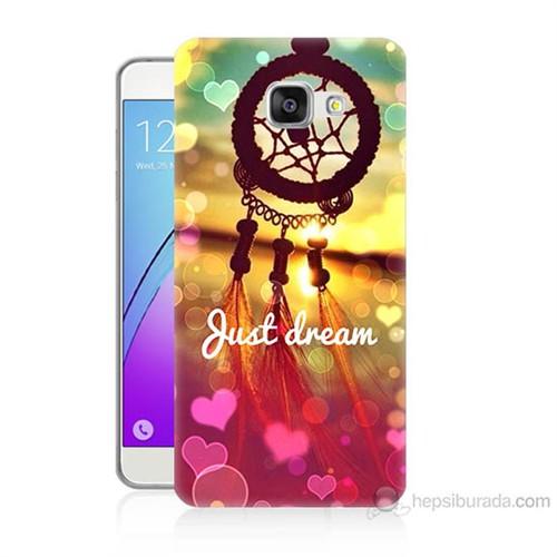 Teknomeg Samsung Galaxy A7 2016 Kapak Kılıf Just Dream Baskılı Silikon