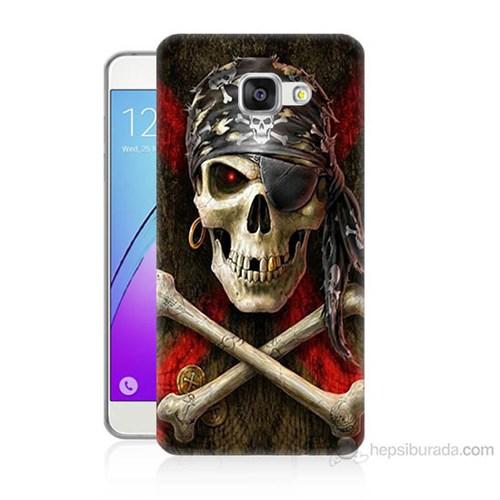 Teknomeg Samsung Galaxy A7 2016 Kapak Kılıf Korsan Baskılı Silikon