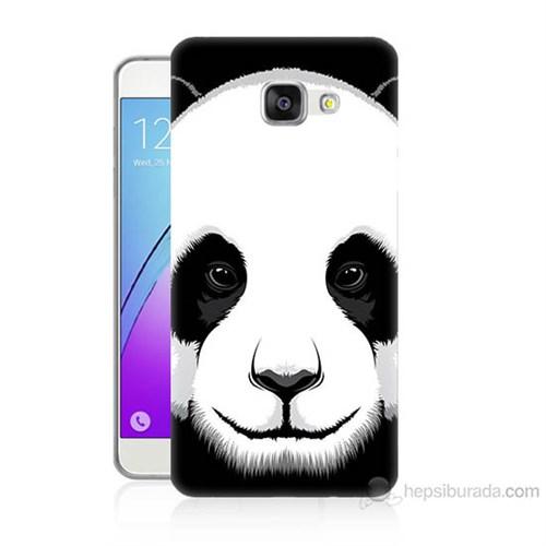 Teknomeg Samsung Galaxy A7 2016 Kapak Kılıf Panda Baskılı Silikon