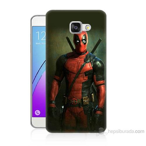 Teknomeg Samsung Galaxy A7 2016 Kapak Kılıf Deadpool Baskılı Silikon