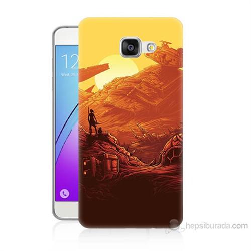 Teknomeg Samsung Galaxy A7 2016 Kapak Kılıf Star Wars 7 Baskılı Silikon