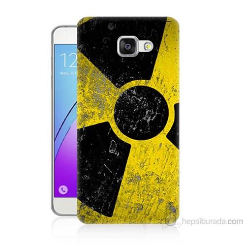 Teknomeg Samsung Galaxy A7 2016 Kapak Kılıf Radyasyon Baskılı Silikon