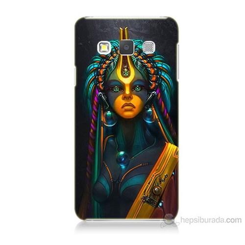 Teknomeg Samsung Galaxy A7 Kapak Kılıf İllustrations Resim Baskılı Silikon