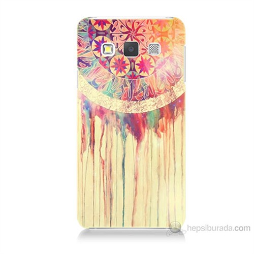Teknomeg Samsung Galaxy A7 Kapak Kılıf Dream Catcher Baskılı Silikon