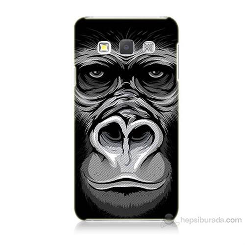 Teknomeg Samsung Galaxy A7 Kapak Kılıf Goril Baskılı Silikon
