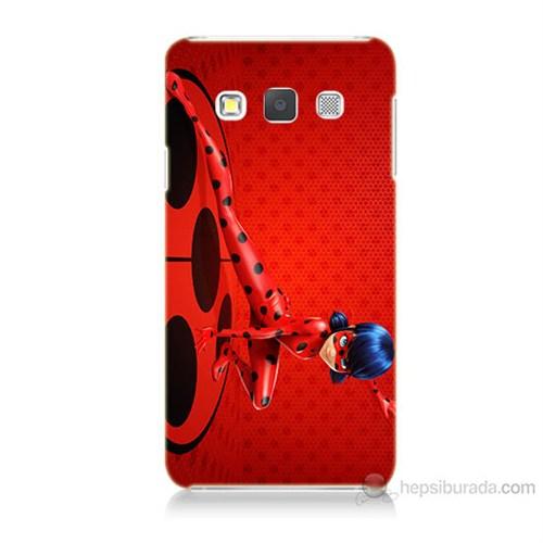 Teknomeg Samsung Galaxy A7 Kapak Kılıf Sevimli Kahraman Baskılı Silikon