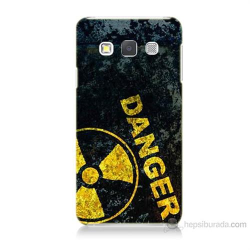 Teknomeg Samsung Galaxy A7 Kapak Kılıf Tehlikeli Baskılı Silikon