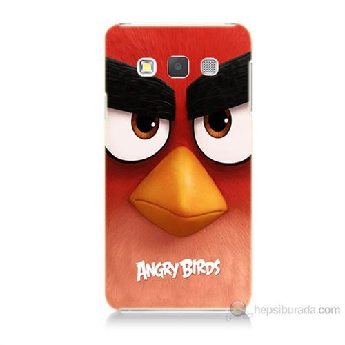 Teknomeg Samsung Galaxy A3 Kapak Kılıf Angry Birds Baskılı Silikon