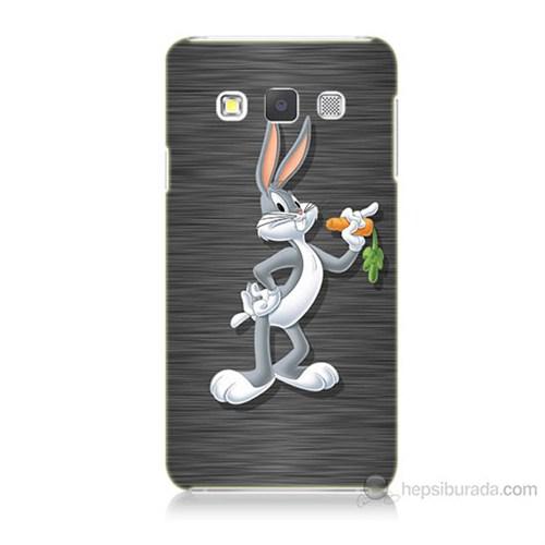 Teknomeg Samsung Galaxy A3 Kapak Kılıf Bugs Bunny Baskılı Silikon