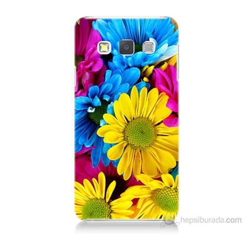 Teknomeg Samsung Galaxy A3 Kapak Kılıf Kasımpatı Baskılı Silikon