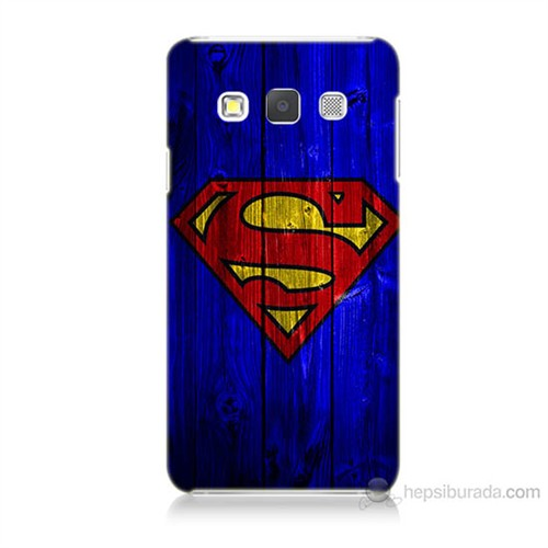 Teknomeg Samsung Galaxy A3 Kapak Kılıf Superman Baskılı Silikon