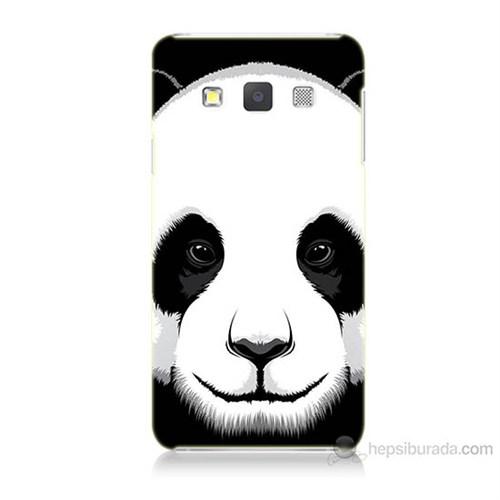 Teknomeg Samsung Galaxy A3 Kapak Kılıf Panda Baskılı Silikon